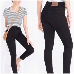 NWT J. Crew 10 Inch Black Curvy Skinny Jeans 29
